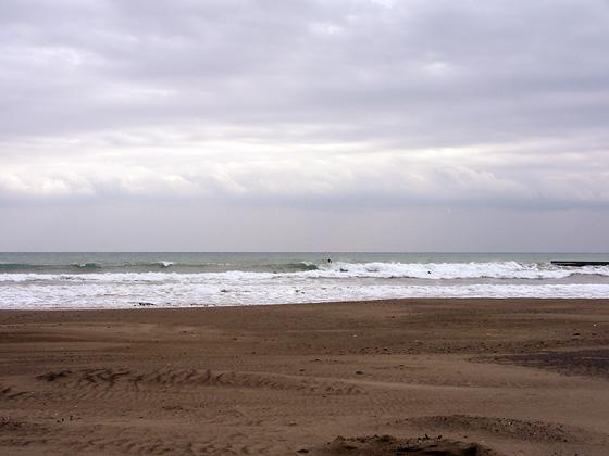 2009/12/01 12:11 静波堤防横