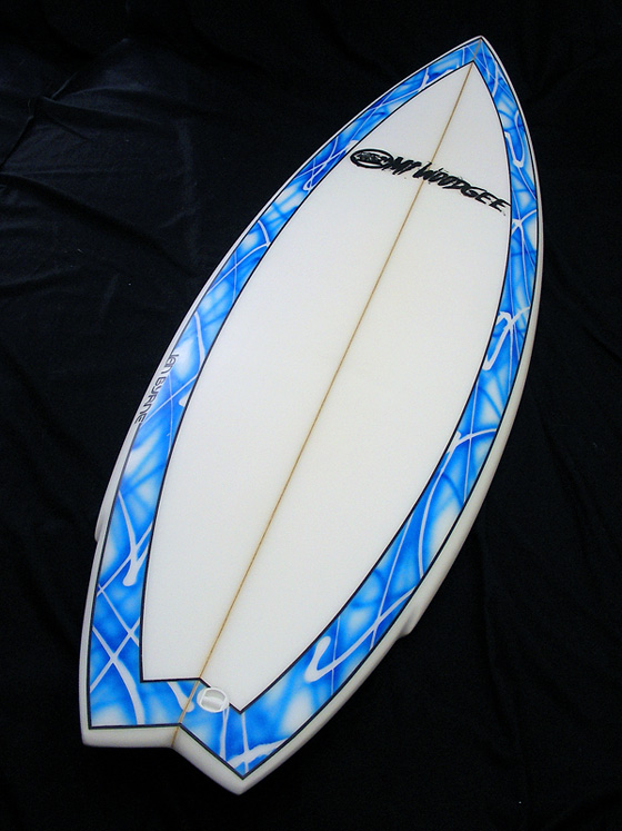 Mt Woodgee Surfboards Mod Fish 6'