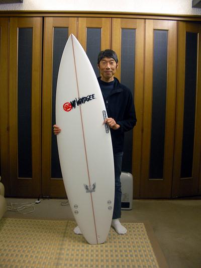 Mt Woodgee Surfboards DURBOモデル Y様