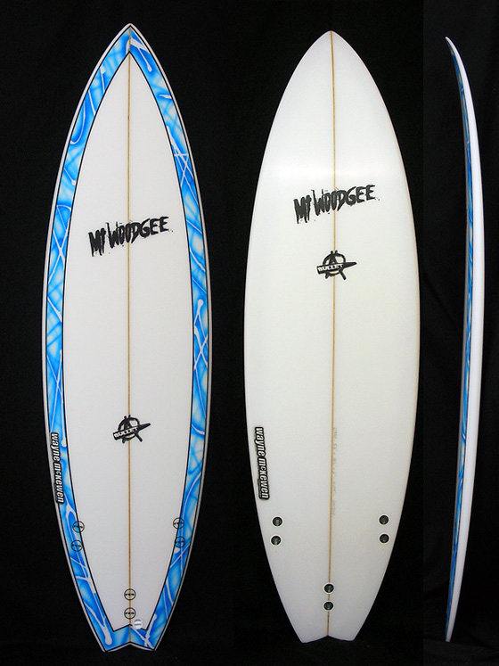 Mt Woodgee Surfboards BULLET 5'8