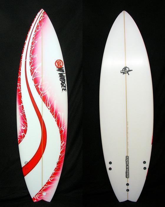 Mt Woodgee Surfboards Bullet 5'10
