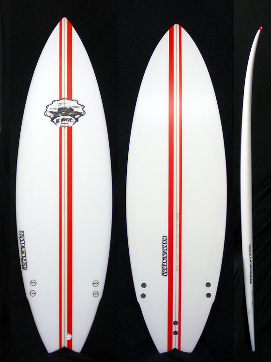 Mt Woodgee Surfboards Mod Fish 5'8
