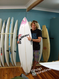 Mt Woodgee Surfboards ライダー Noah Lame