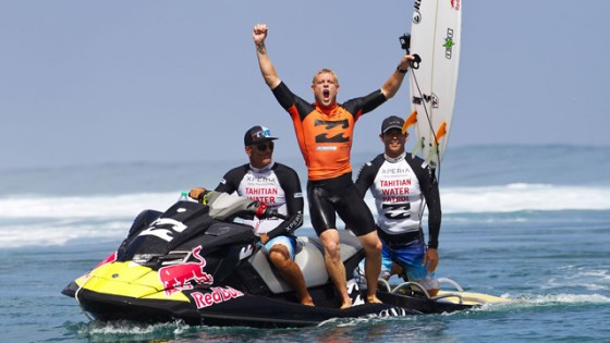 Mick Fanning, Billabong Pro Tahiti 2012 Champion © ASP/ Kirstin