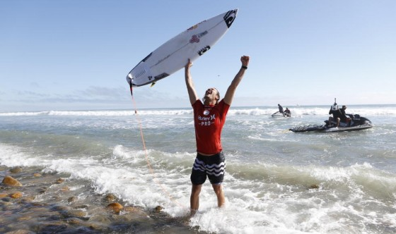 Jordy Smith Win Hurley Pro at Trestles 2014