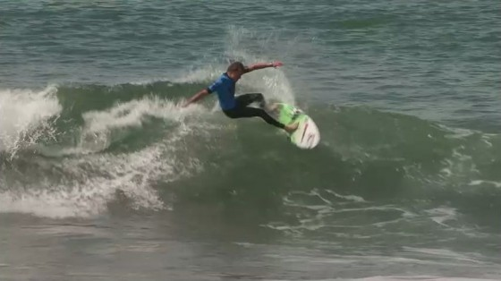 Lincoln Taylor(リンコン・テイラー) Nike US Open of Surfing 2011