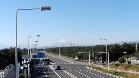 2010/12/04 12:14 湘南からの富士山
