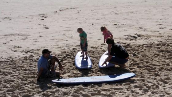 2011/02/27 COOLUM Kids surf school