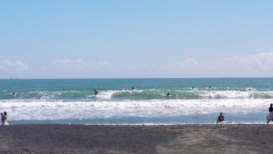 2011/09/18 11:17 静波海岸堤防横