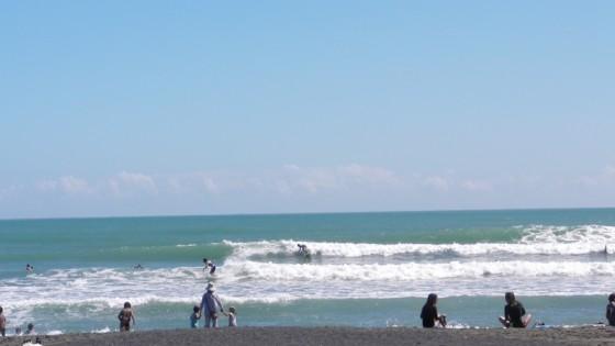 2011/09/18 11:49 静波海岸堤防横