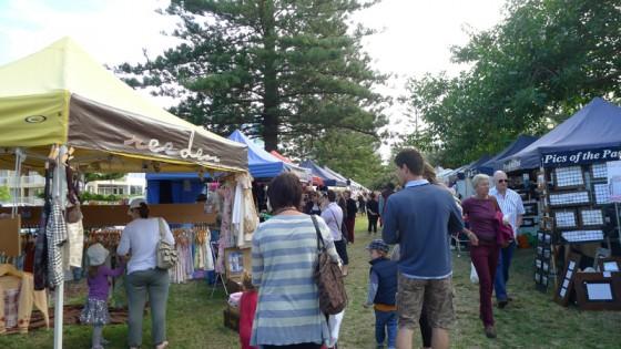 2012/06/24 Burleigh Heads Market