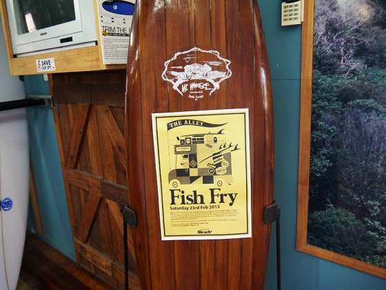 THE ALLEY Fish Fry 23rd Feb 2013