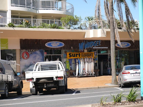 Mt Woodgee Surfbords Coolangatta Shop