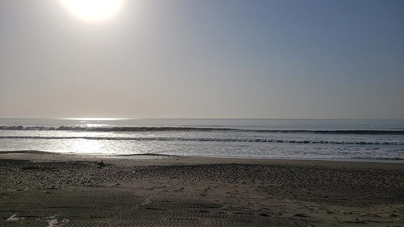 2021/04/20 6:58 片浜海岸