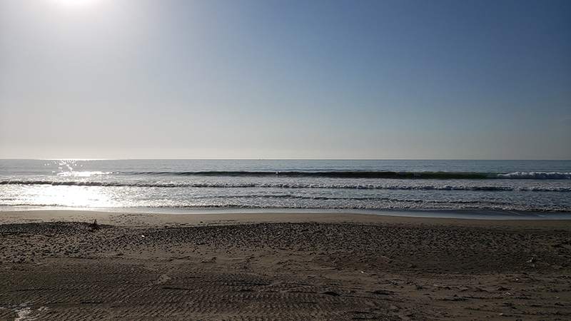 2021/04/22 6:57 片浜海岸