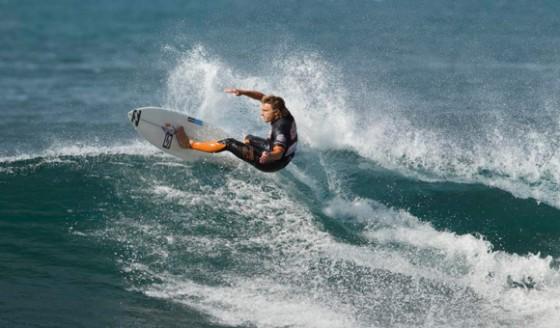 Adam Robertson Trials 2011 Rip Curl Pro Bell Beach