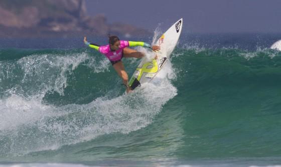 Sally Fitzgibbons 2014 Billabong Rio Pro