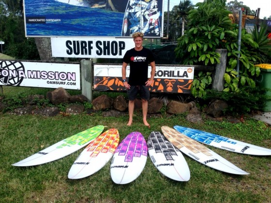 Mt Woodgee Surfboards ライダー Lincoln Taylor(リンコン・テイラー)