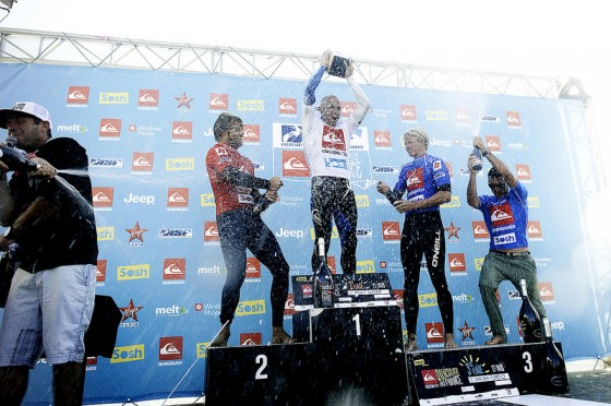 Kelly Slater Win Quiksilver Pro France 2012
