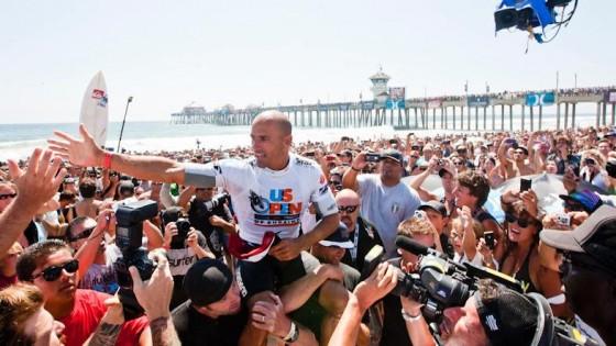 Kelly Slater Win Nike US Open of Surfing 2011