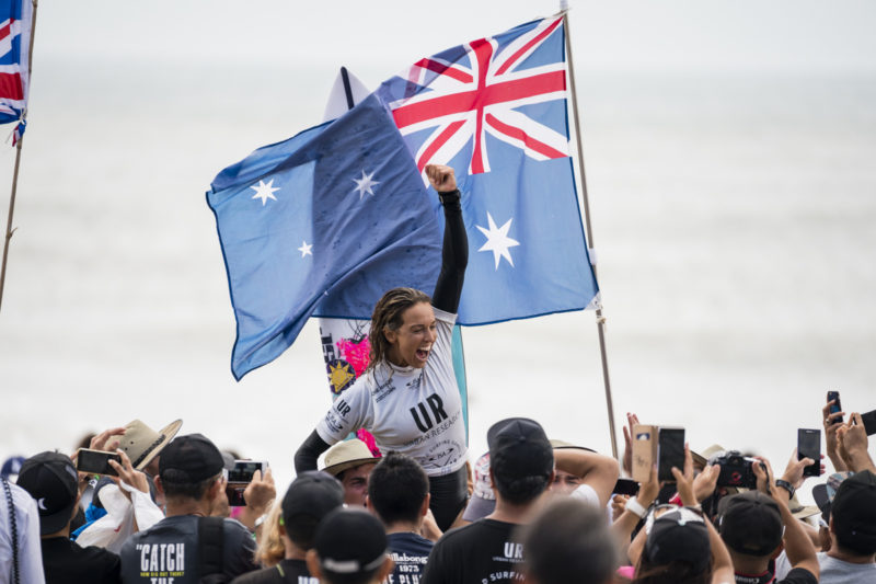 Sally Fitzgibbons / PHOTO: ISA / Ben Reed