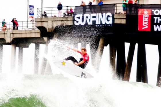 ビード・ダービッジ Vans US Open of Surfing 2013