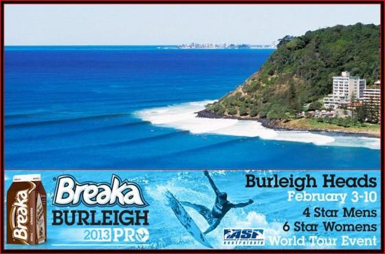 Breaka Burleigh Pro 2013