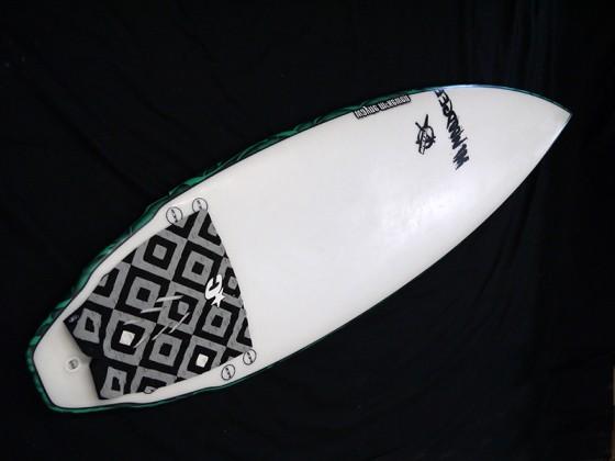#mib019 中古 Mt Woodgee Surfboards 5'6 MINI BULLET