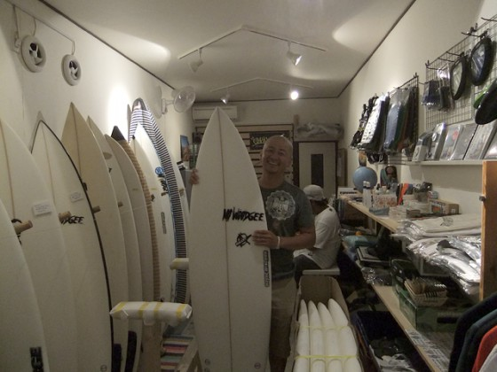 Mt Woodgee Surfboards BULLETモデル