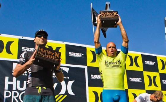 Kelly Slater Win HURLEY PRO AT TRESTLES 2012