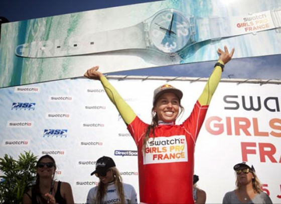 Sally Fitzgibbons  Win 2011 Swatch Girls Pro France