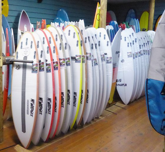 Mt Woodgee Surfboards MINI BULLETモデル