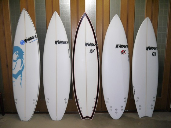 Mt Woodgee Surfboards Ian Byrne シェイプ
