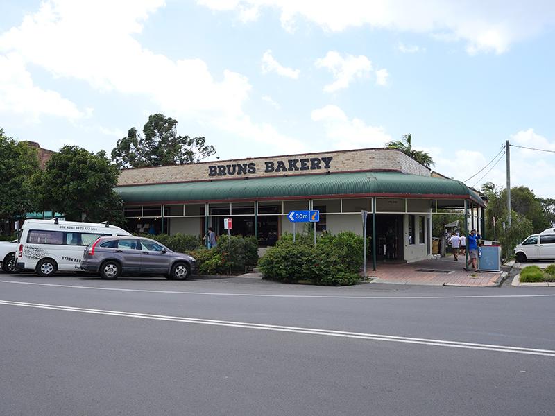 2019/02/22 Burns Bakery (バーンズウイッグヘッド NSW州のパン屋)