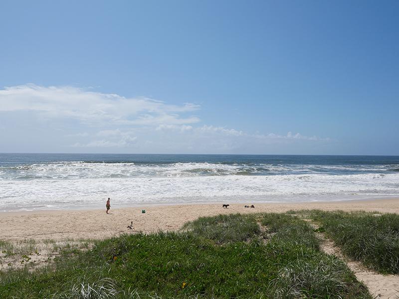 Day10 サンシャインコーストオープンビーチへ