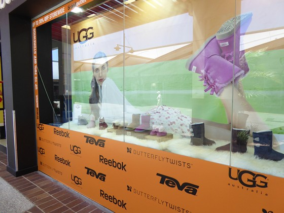2015/03/05 UGG のアウトレットも有ります。 Habour Town Shopping Center