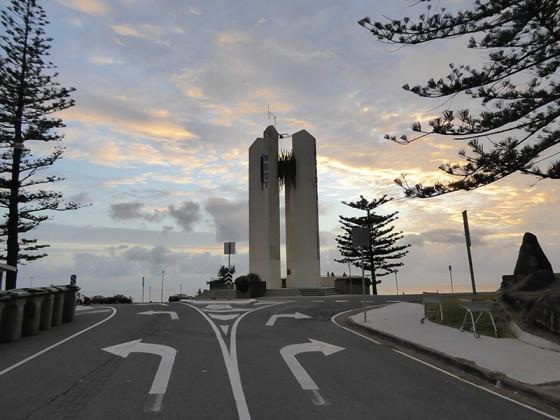 2015/03/09 デュランバーに有る方向を示す塔