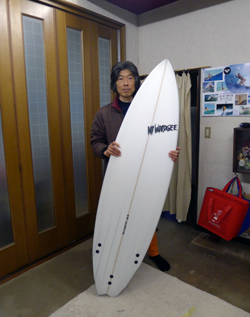 Y様 Mt Woodgee Surfboards 6 Channel