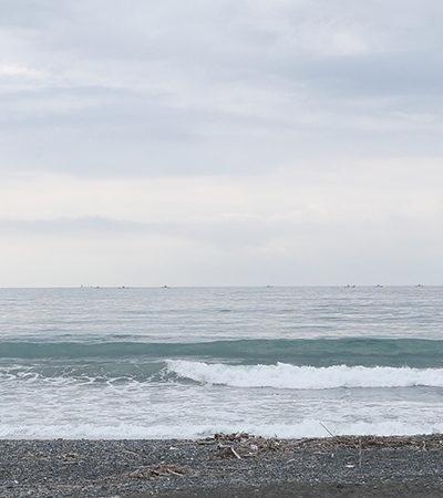 2021/06/18 7:43 静波海岸