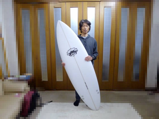 Mt Woodgee Surfboards お買い上げY様