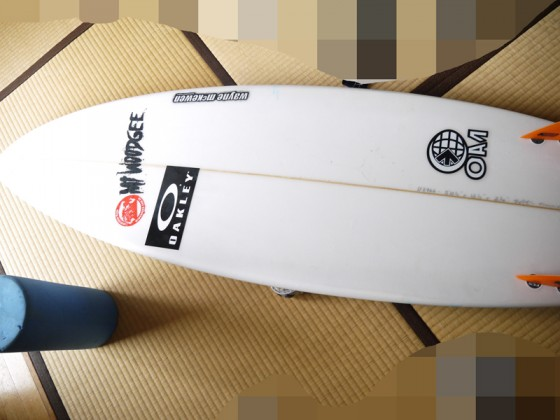 ティム使用 Mt Woodgee Surfboards Standardモデル