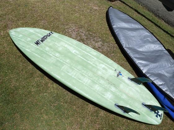 Mt Woodgee Surfboards SAINTモデル