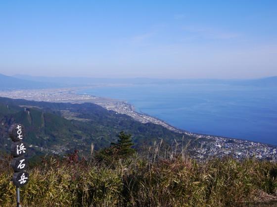 富士川河口(浜石岳より)