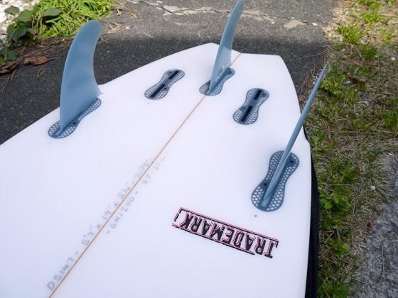 Mt Woodgee Surfboards TRADEMARK トレードマーク
