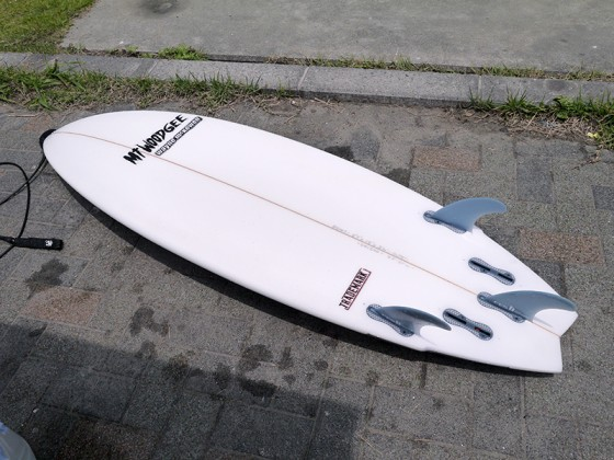 Mt Woodgee Surfboards TRADEMARKモデル