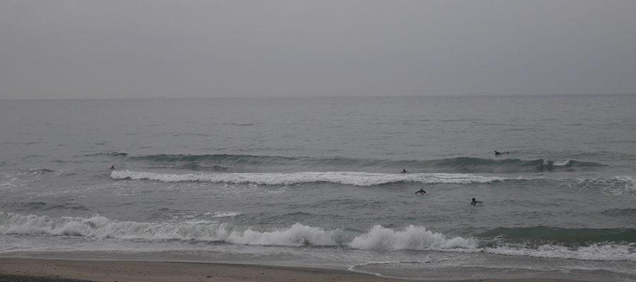 2017/08/27 8:00 御前崎 潮上げてきて波無くなりました