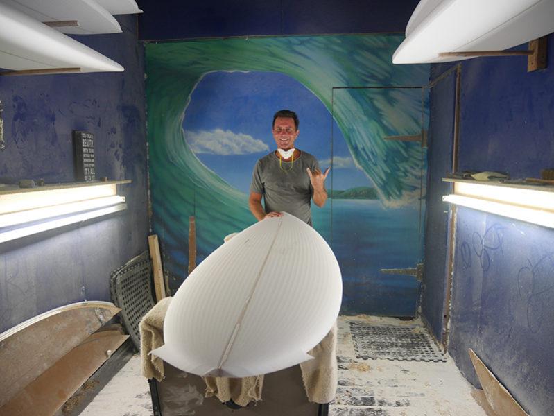 Mt Woodgee Surfboard シェイパー 「イアン・バーン」