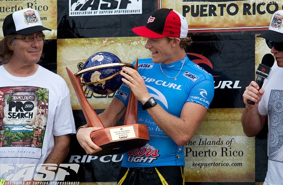 Rip Curl Pro Search Puerto Rico Bede Durbidge (ビード・ダービッジ)準優勝