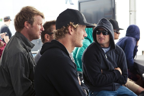ビードとタジ Nike US Open of Surfing 2012