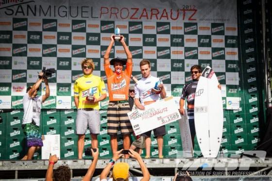 Ramzi Boukhiam Win SAN MIGUEL PRO ZARAUTZ 2012